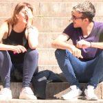Fakings Pilladas – Iris Teen Fumeta estudiante de filosofía, tiene solo 20 añitos: ESTÁ MUY NERVIOSA. (Captada en la facultad)