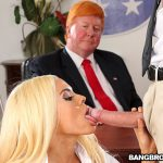 Bangbros – Luna's Visit to the Presidential Anal Office – Luna Star