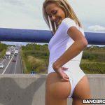 BangBros – Veronica Leal – Fucking Veronica's Ass On A Highway Bridge