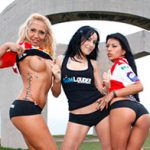Cumlouder – Ginger Hell, Leyla Black & Yoha Gálvez – Lesbian threesome