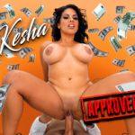 Cumlouder – Kesha Ortega – Kesha applies for a Cumcash loan