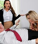 Brazzers – Amber In The Hills: Part 2 – Abigail Mac, Amber Jade