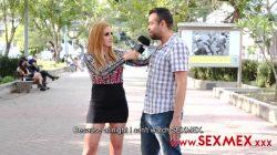 Sexmex – Buscando Actor Porno En La Calle – Pecosa